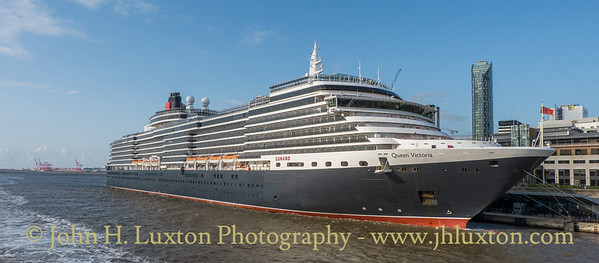 Carnival Corporation QUEEN VICTORIA - Lverpool Cruise Terminal - August 20, 2019