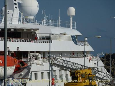 SEABOURN LEGEND at Victoria Pier, Douglas, Isle of Man. Saturday September 06, 2014