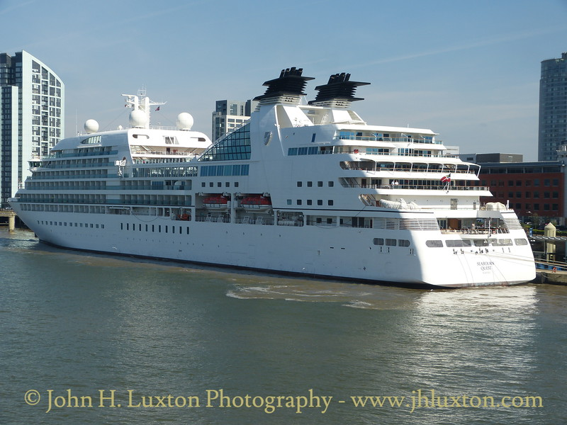 SEABOURN QUEST - Liverpool - August 16, 2016