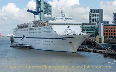 MS MAGELLAN - Liverpool Cruise Terminal - August 08, 2019