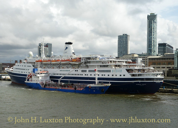 MS Marco Polo - Liverpool - September 01, 2017