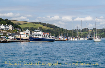 WESTERN LADY VII and DARTMOUTH CASTLE, Dartmouth - September 10, 2020