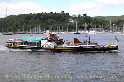 PS KINGSWEAR CASTLE, River Dart, May 25, 2015