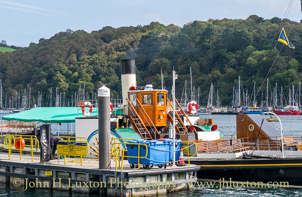 PS KINGSWEAR CASTLE, River Dart, September 10, 2020