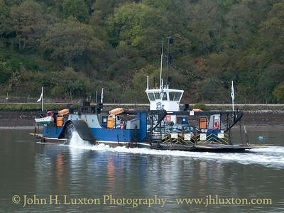 Dartmouth Higher Ferry, Devon, October 28, 2003