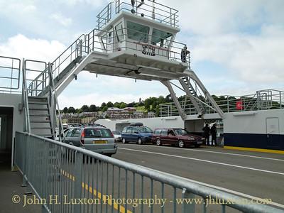 Dartmouth Higher Ferry, Devon, August 12, 2009