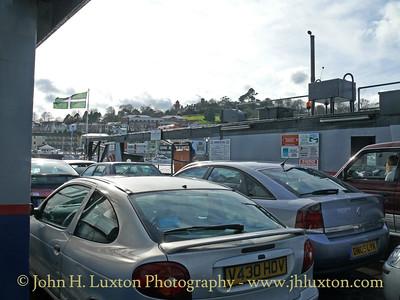 Dartmouth Higher Ferry, Devon, March 23, 2008