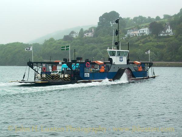 Dartmouth Higher Ferry, Devon, May 31, 2005