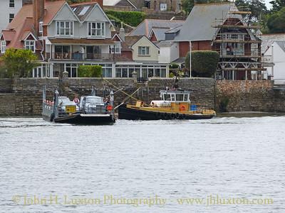 Dartmouth Higher Ferry, Devon, May 27, 2014