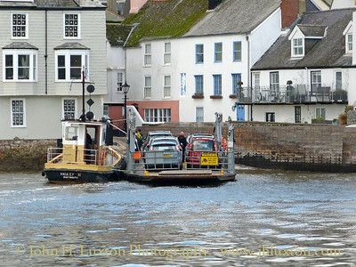 Dartmouth Higher Ferry, Devon, October 23, 2013