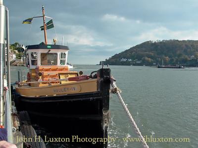 Dartmouth Lower Ferry, Devon, October 28, 2003