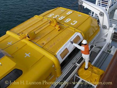 BLACK WATCH: Emergency Drill in Progress at La Coruna - April 12, 2010