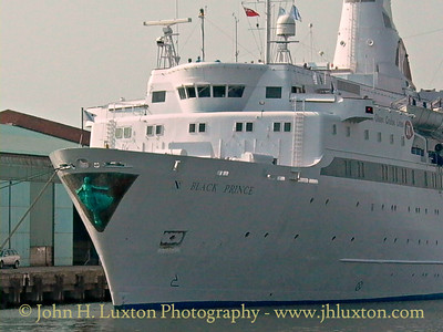 Fred. Olsen Lines - BLACK PRINCE - Langton Dock - Liverpool - Merseyside - August 09, 2003
