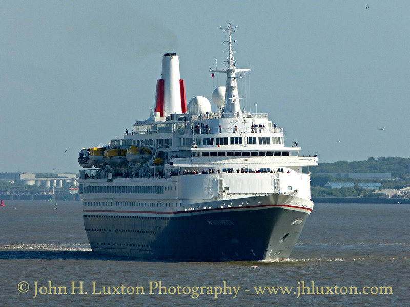 Fred. Olsen Lines - BOUDICCA - Liverpool, May 14, 2016
