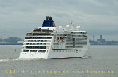 EUROPA 2 arrives on the River Mersey - September 08, 2018