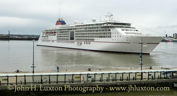 EUROPA 2 arrives on the River Mersey - September 08, 2018