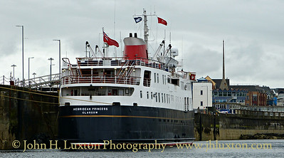 HEBRIDEAN PRINCESS at Douglas - July 01, 2017