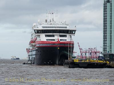 MS Fridtjof Nansen - Liverpool Cruise Terminal - March 11, 2020