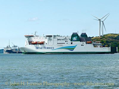 Irish Ferries MS ISLE OF INISHMORE - August 11, 2015