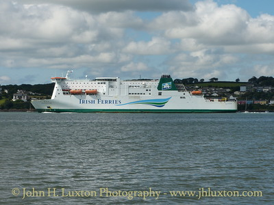 Irish Ferries MS ISLE OF INISHMORE - August 11, 2015