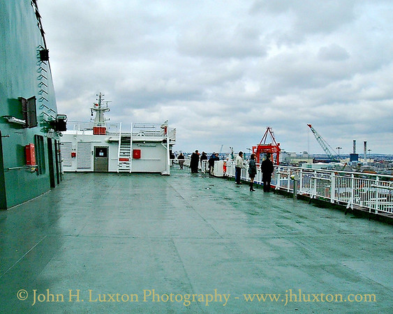 Irish Ferries MV ULYSSES - Maiden Voyage March 25, 2001