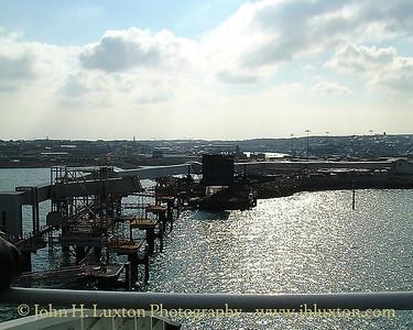 Irish Ferries MV ULYSSES - Maiden Voyage March 25, 2001