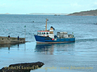 Isles of Scilly Steamship Company - October 22, 2002
