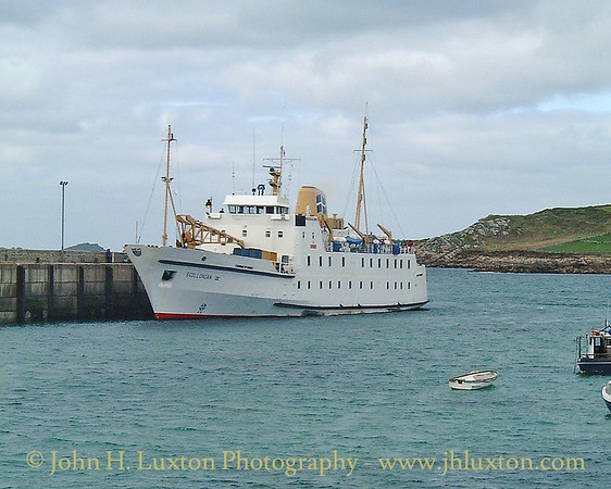 Isles of Scilly Steamship Company - April 16, 2001