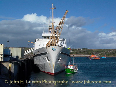 Isles of Scilly Steamship Company - October 23, 2003