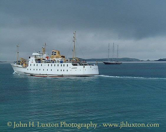 Isles of Scilly Steamship Company - April 13, 2001