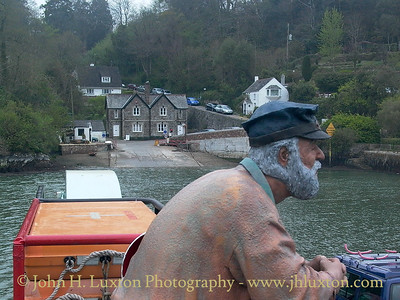 KING HARRY FERRY, River Fal, Cornwall - April 20, 2003