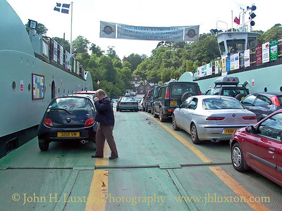 KING HARRY FERRY, River Fal, Cornwall - June 01, 2004