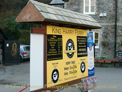 KING HARRY FERRY, River Fal, Cornwall - February 16, 2005