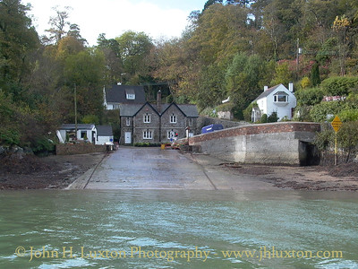 KING HARRY FERRY, River Fal, Cornwall - October 25, 2002