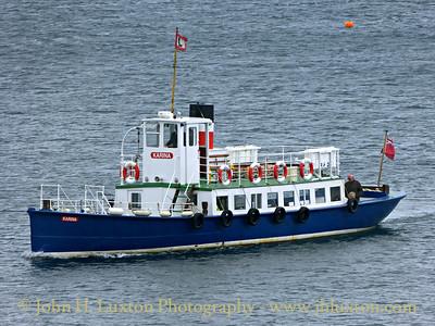 Laxey Towing Company KARINA - July 02, 2016