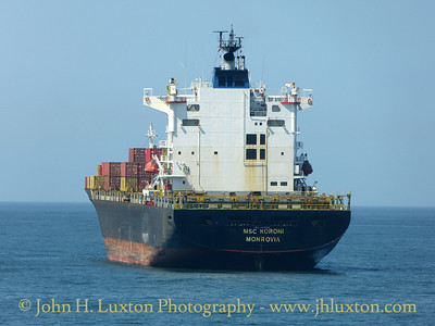 MSC KORONI. Liverpool Bay - June 17, 2017