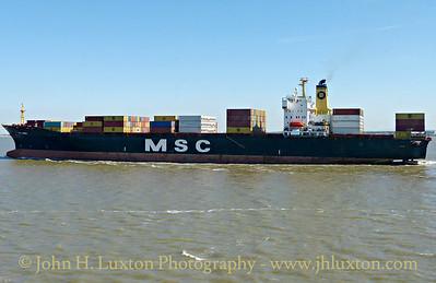 MSC SABRINA - April 18, 2015