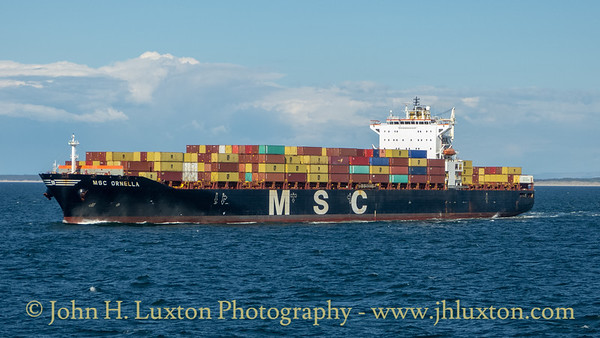MSC ORNELLA - May 11, 2019