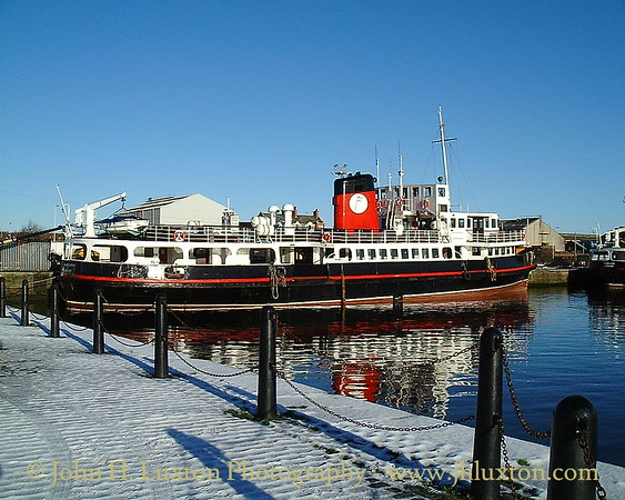 The Mersey Ferries - December 30, 2000