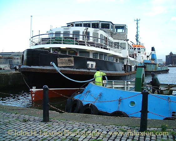 The Mersey Ferries - December 16, 2001