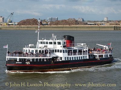 The Mersey Ferries - April 26, 2014