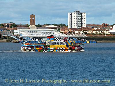 The Mersey Ferries - September 05, 2015