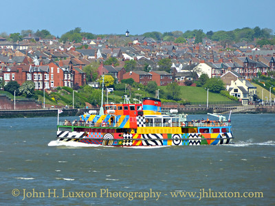 The Mersey Ferries - May 16, 2015