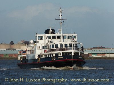 The Mersey Ferries - January 03, 2014