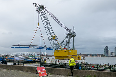 The Mersey Ferries - Seacombe Terminal - October 13, 2021