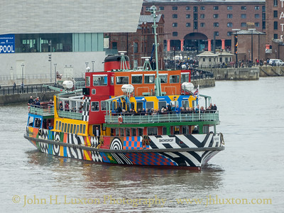 The Mersey Ferries - May 18, 2005
