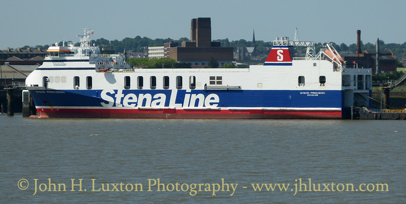STENA PRECISION seen at Twelve Quays on Saturday June 17, 2017