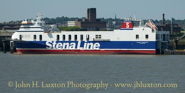 STENA PRECISION seen at Twelve Quays on Saturday June 17, 2017