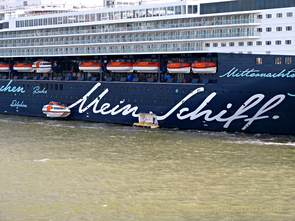 MEIN SCHIFF 1 at Liverpool Cruise Terminal - July 25, 2015
