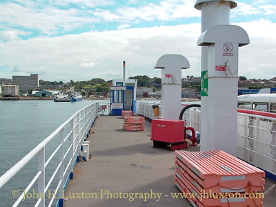 Torpoint Ferry, Torpoint, Cornwall - August 20, 2003